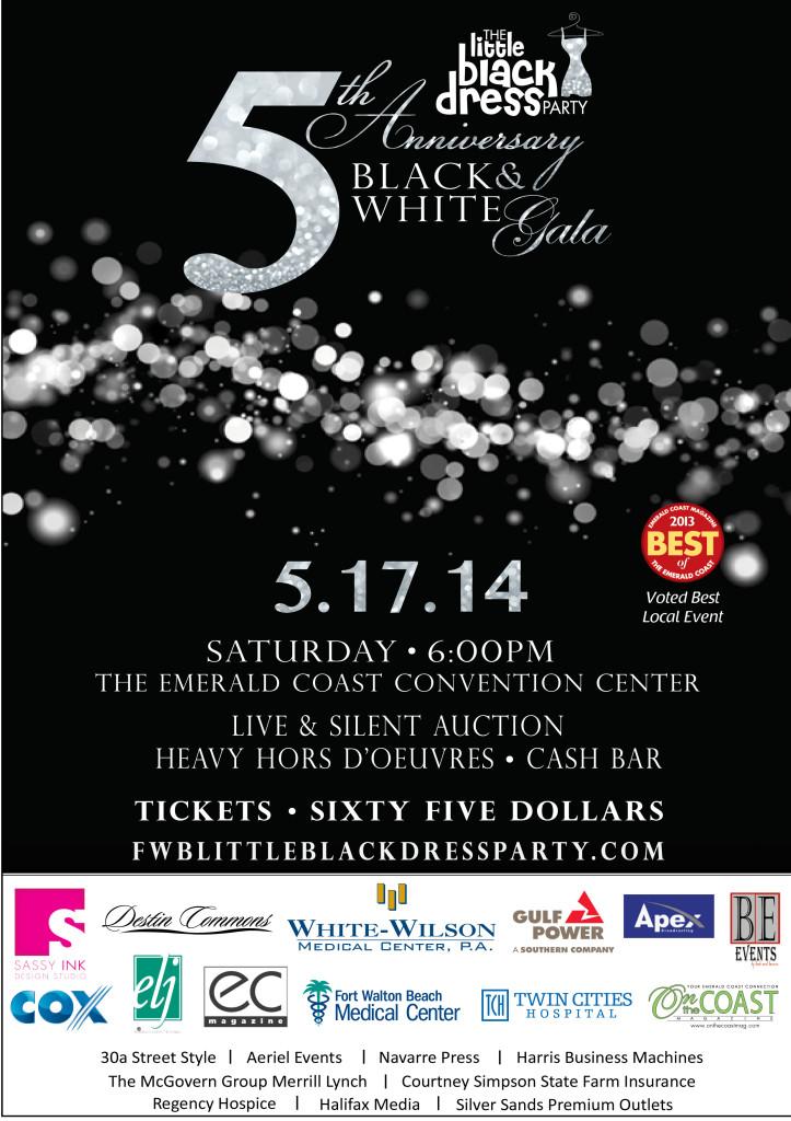 Little Black Dress Party - White Wilson