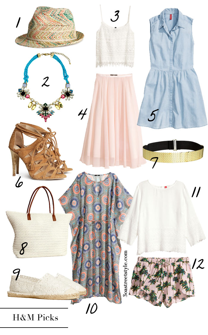 Favorite H&M Picks Summer Style