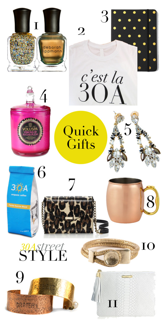 Holiday Gift Guide - Quick Gifts