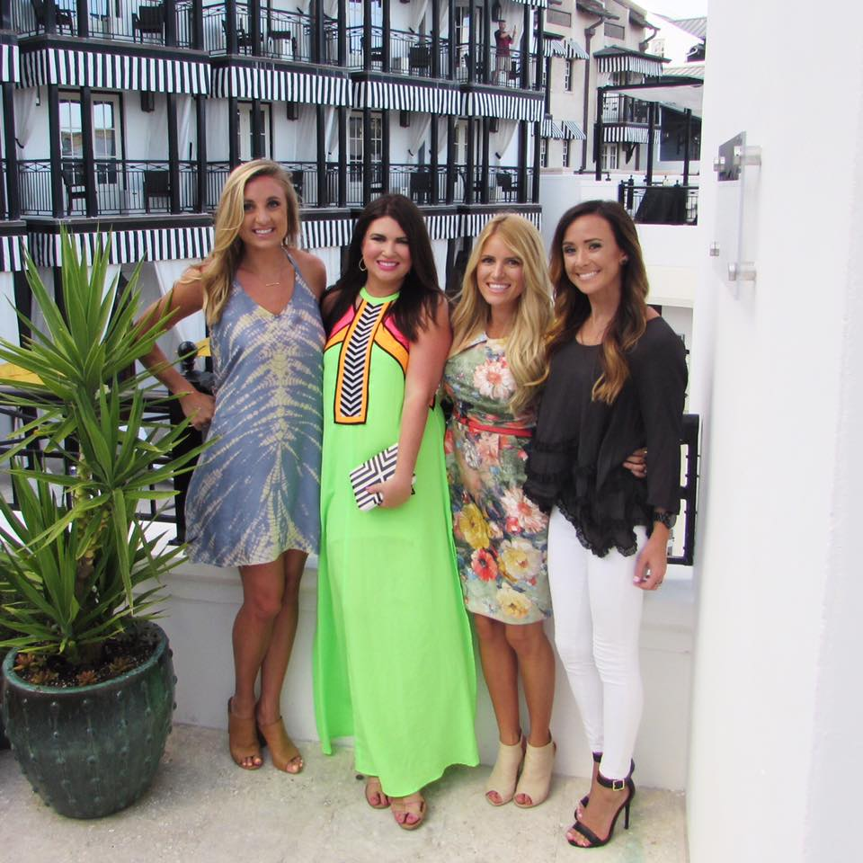 Neon Maxi - The Pearl 30A Street Style Rosemary Beach Jami Ray Haley Shepherd Sequins & Things