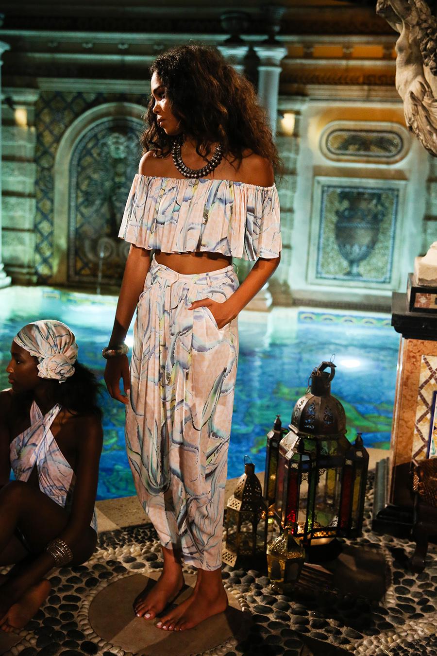 * Mara Hoffman Resort 2016 Versace Moroccan 284