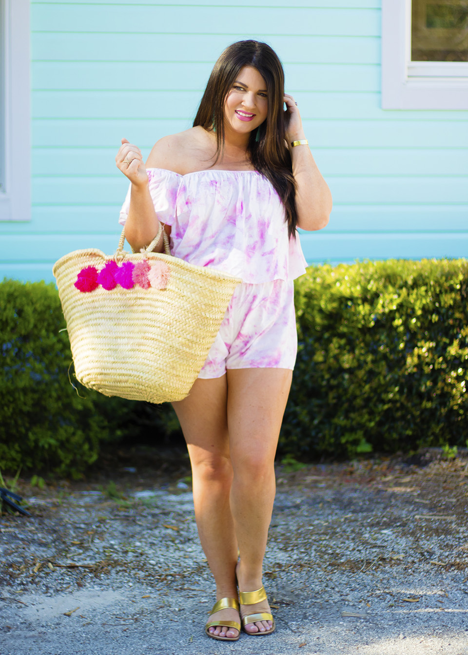 30A Street Style Jami Ray Pink Tie Dye 5