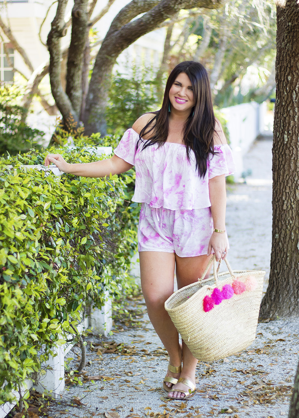 30A Street Style Jami Ray Pink Tie Dye 6