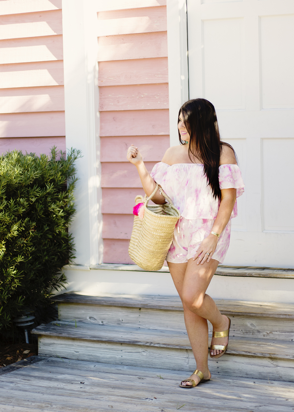 30A Street Style Jami Ray Pink Tie Dye 9