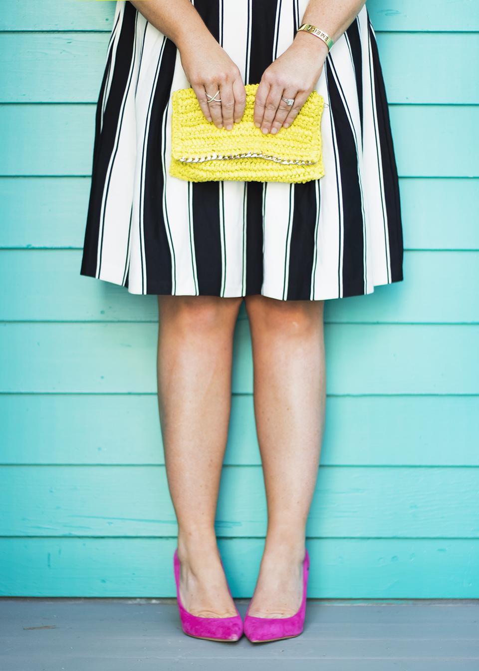 BW Ladylike Stripes 30A Street Style 7