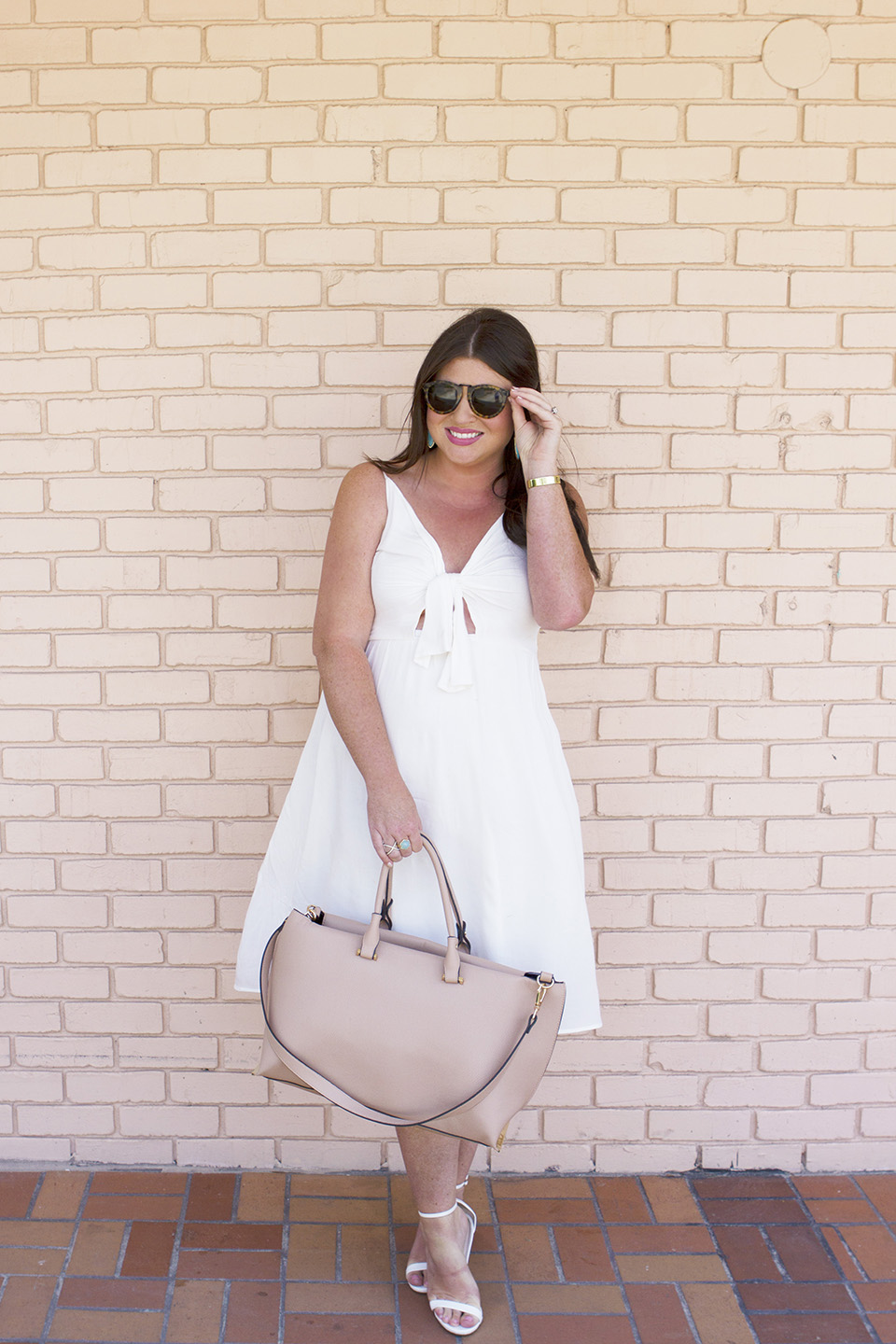30A Shopping White Memorial Day Dress