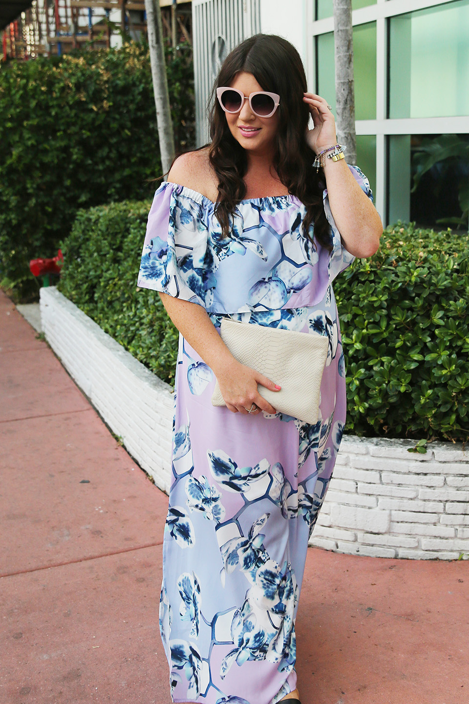 Miami Off the Shoulder Floral