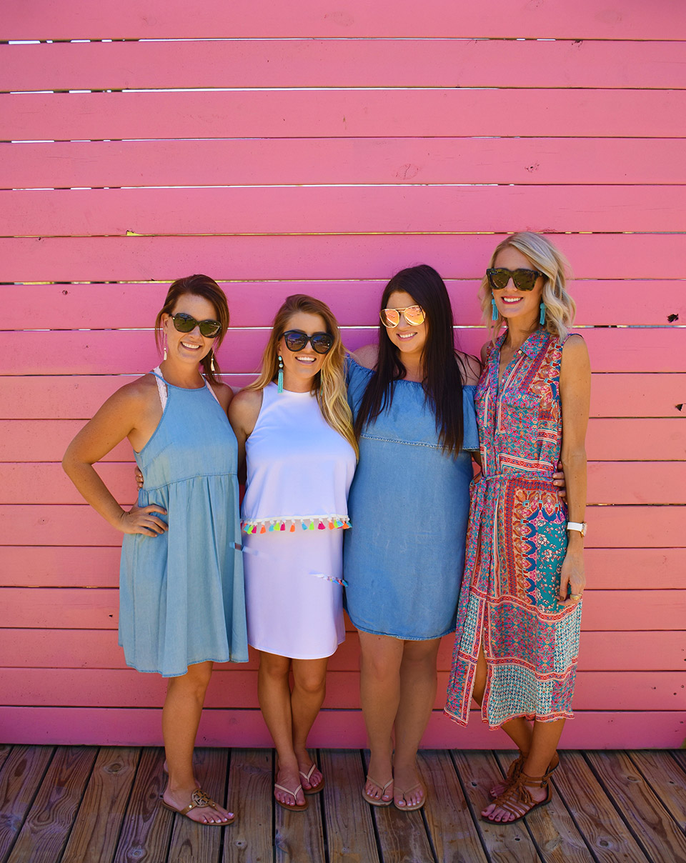 6th Birthday Flamingle - Girlfriends