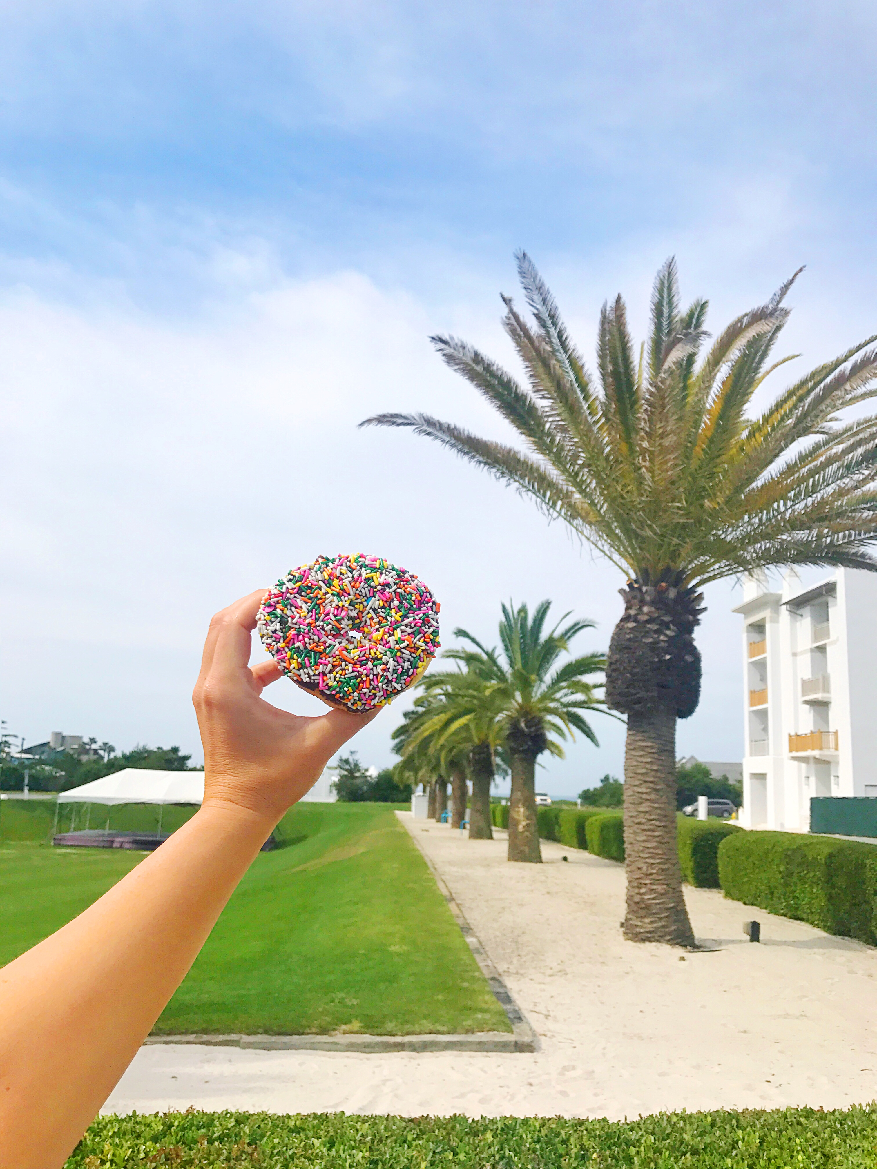 Alys Beach - Charlie's Donuts - 30A Blogger Vacay