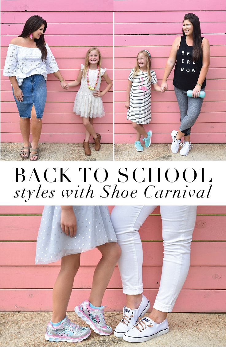 Back to School Shoe Styles, Mommy and Me Style