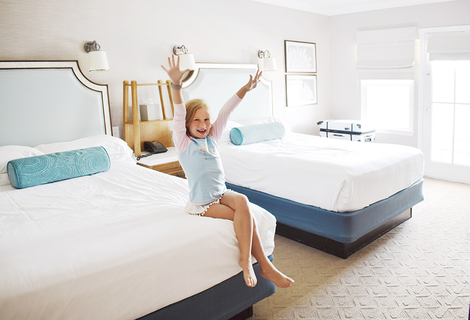 Disney Springs Back to School - Disney Beach Resort Room