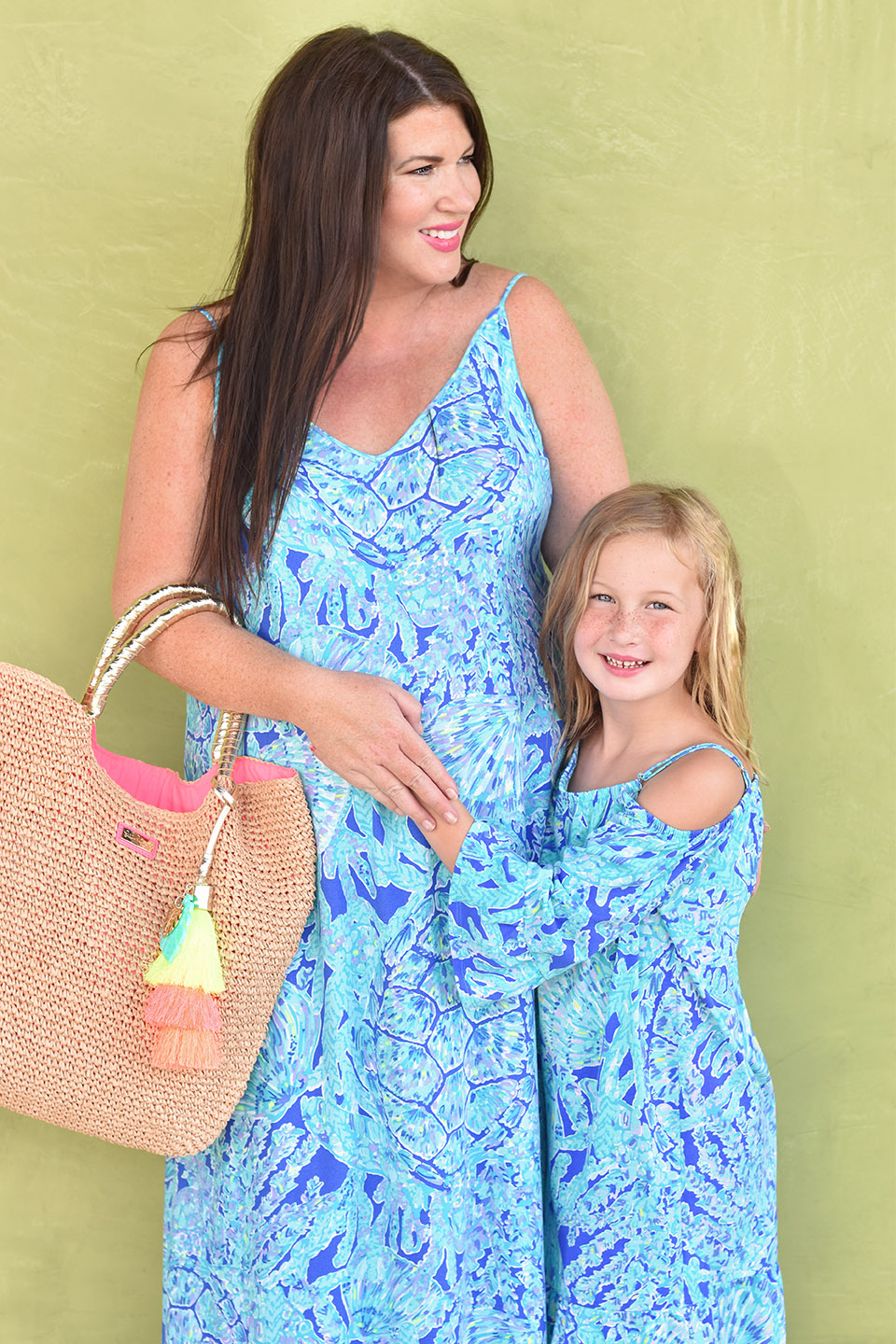 Jami Ray Grand Boulevard Lilly Pulitzer Allair Maxi Mommy and Me