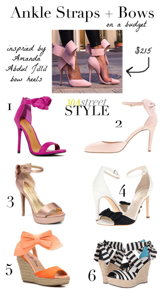 Ankle Straps and Bows - Montage