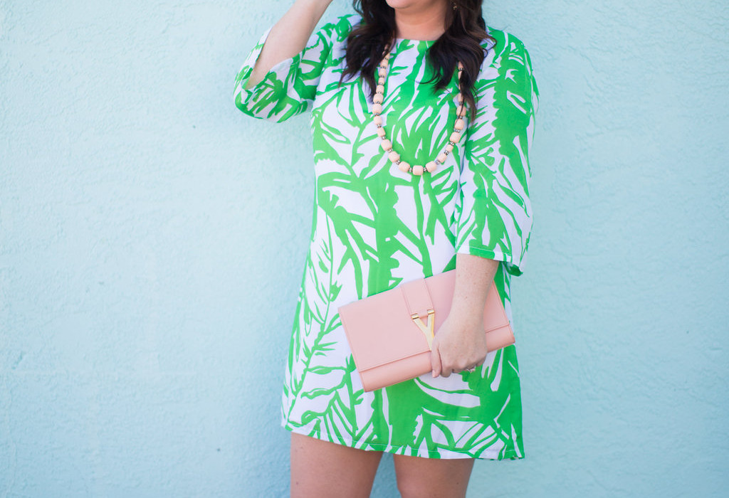 Jami Ray - Tropical Print Dress - 30A Street Style