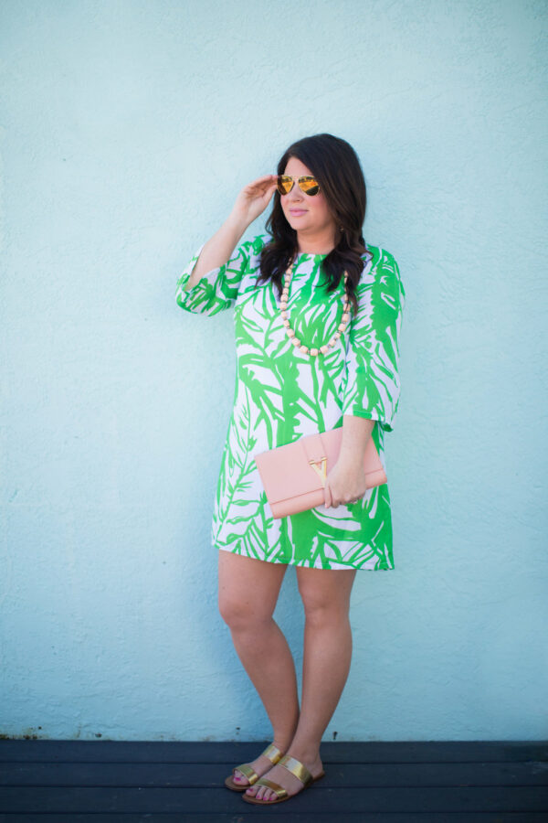 Jami Ray - Tropical Print Dress - 30A Street Style