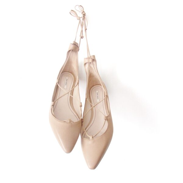 Ghillie Flats - 30A Street Style - Laceup Flats