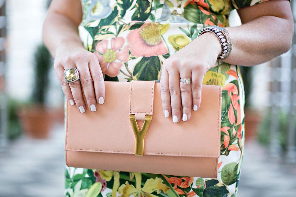 Jami Ray Floral Midi Dress Dallas
