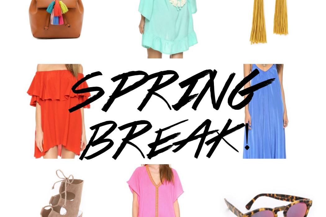 Spring Break Shopping