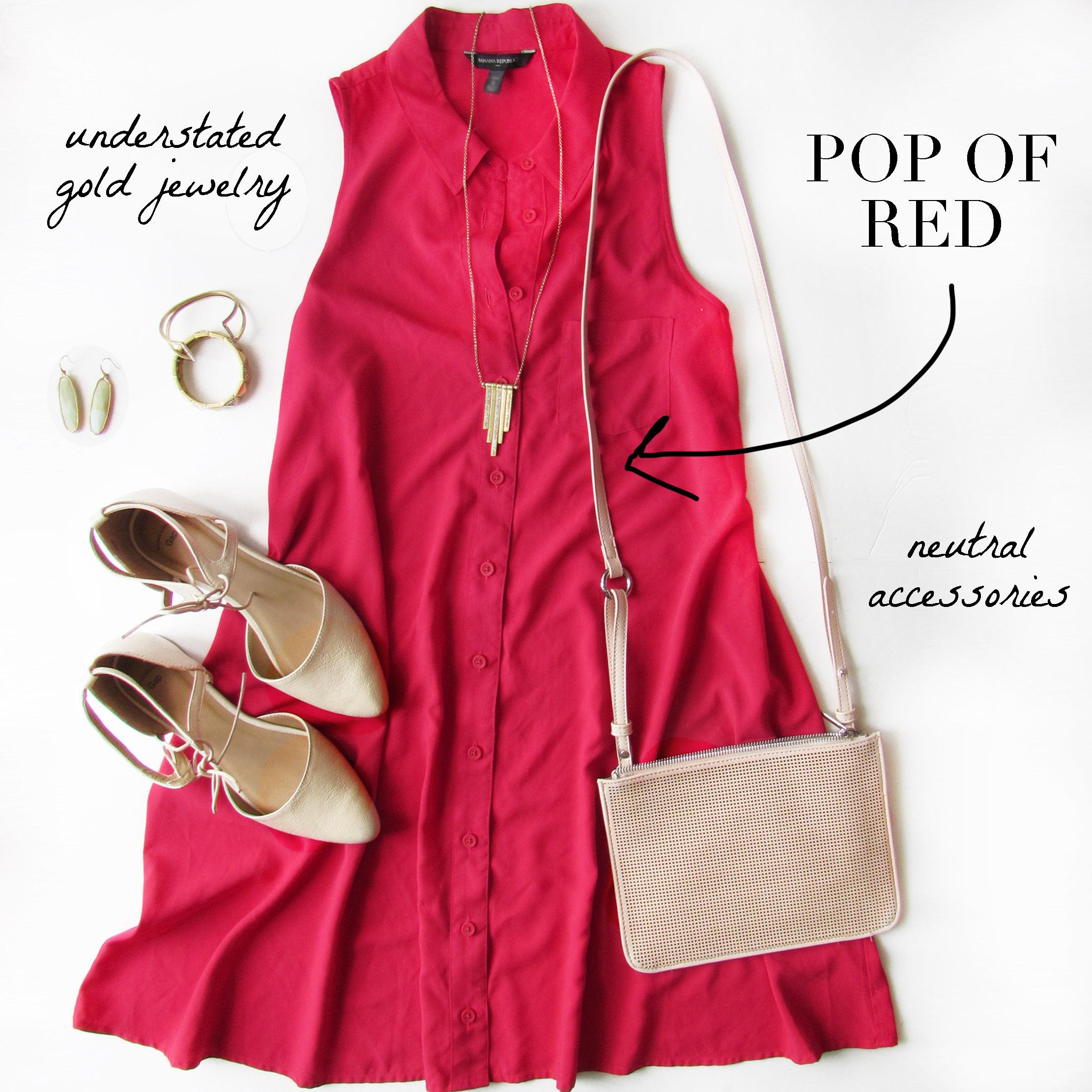 Trend - Pop of Red
