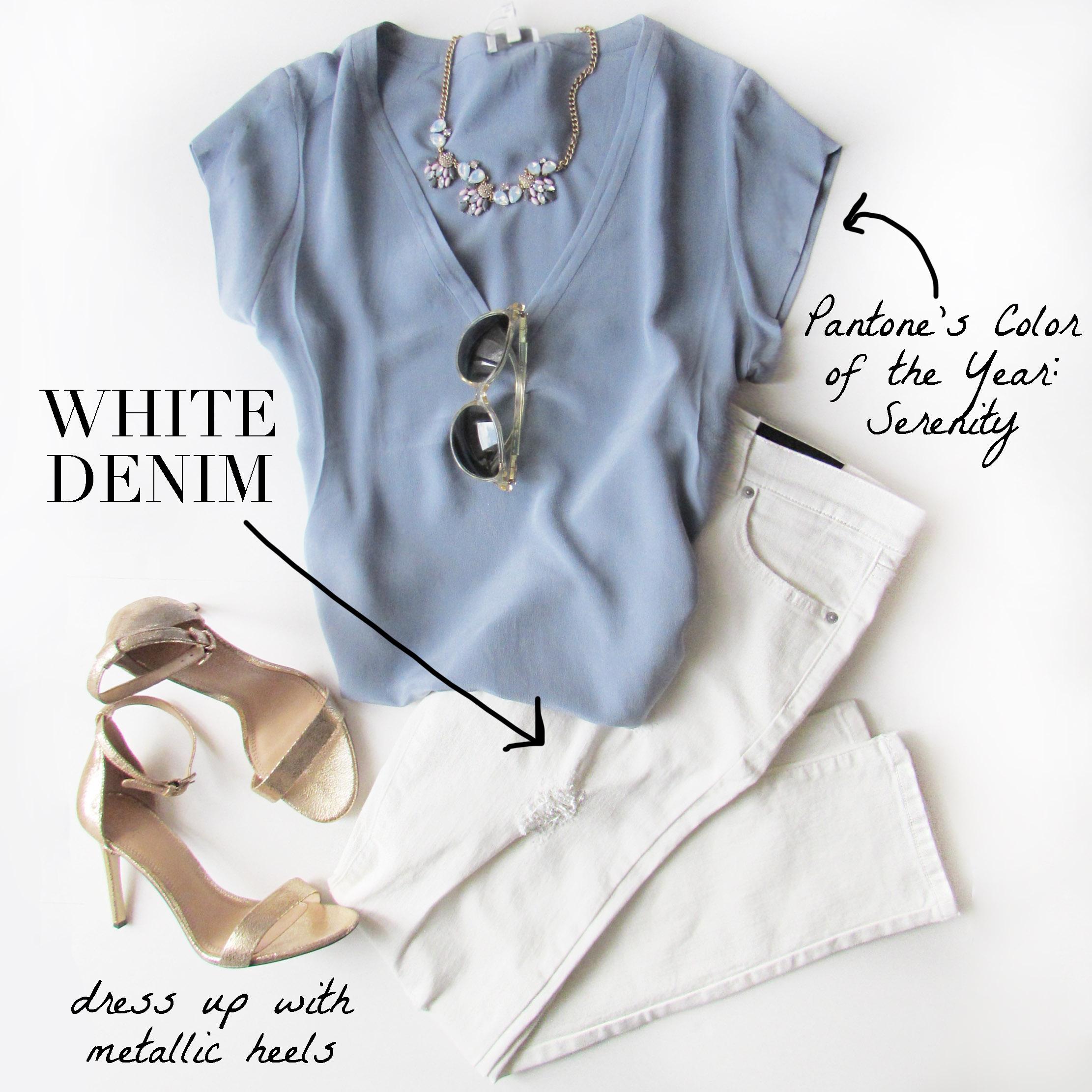 Trend - White Denim