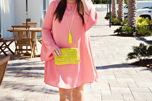 Jami Ray Pink Blush Dress | Blush & Yellow | 30A | South Walton