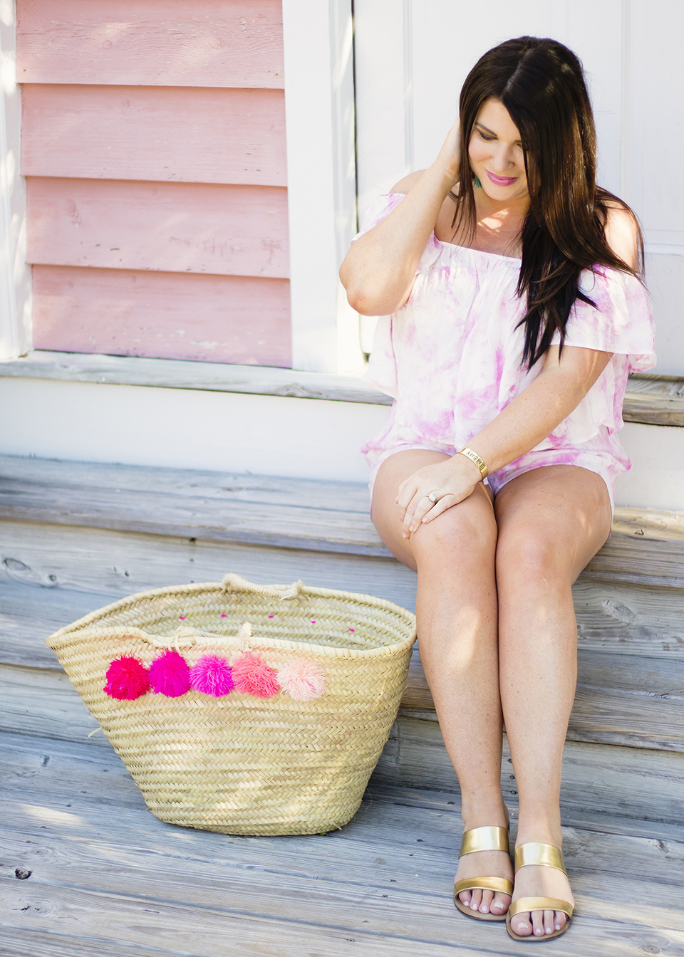 30A Street Style Jami Ray Pink Tie Dye 10