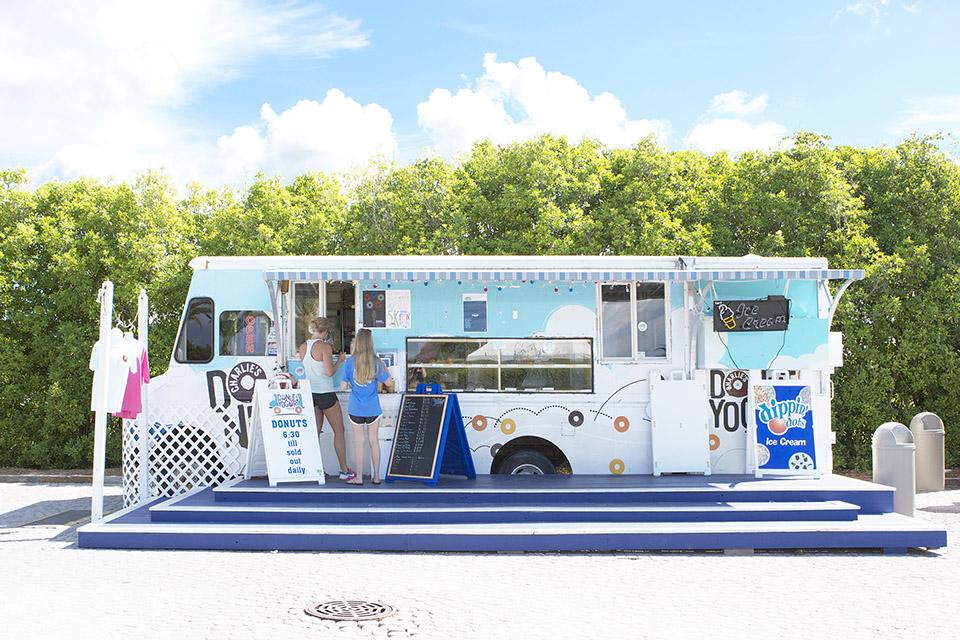 Charlies Donuts 30A Truck Alys Beach