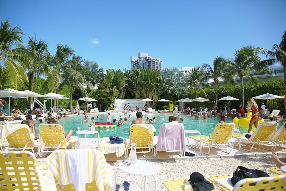 Mara Hoffman Miami Swim Week Free People Most Beautiful Midi  The Standard Hotel