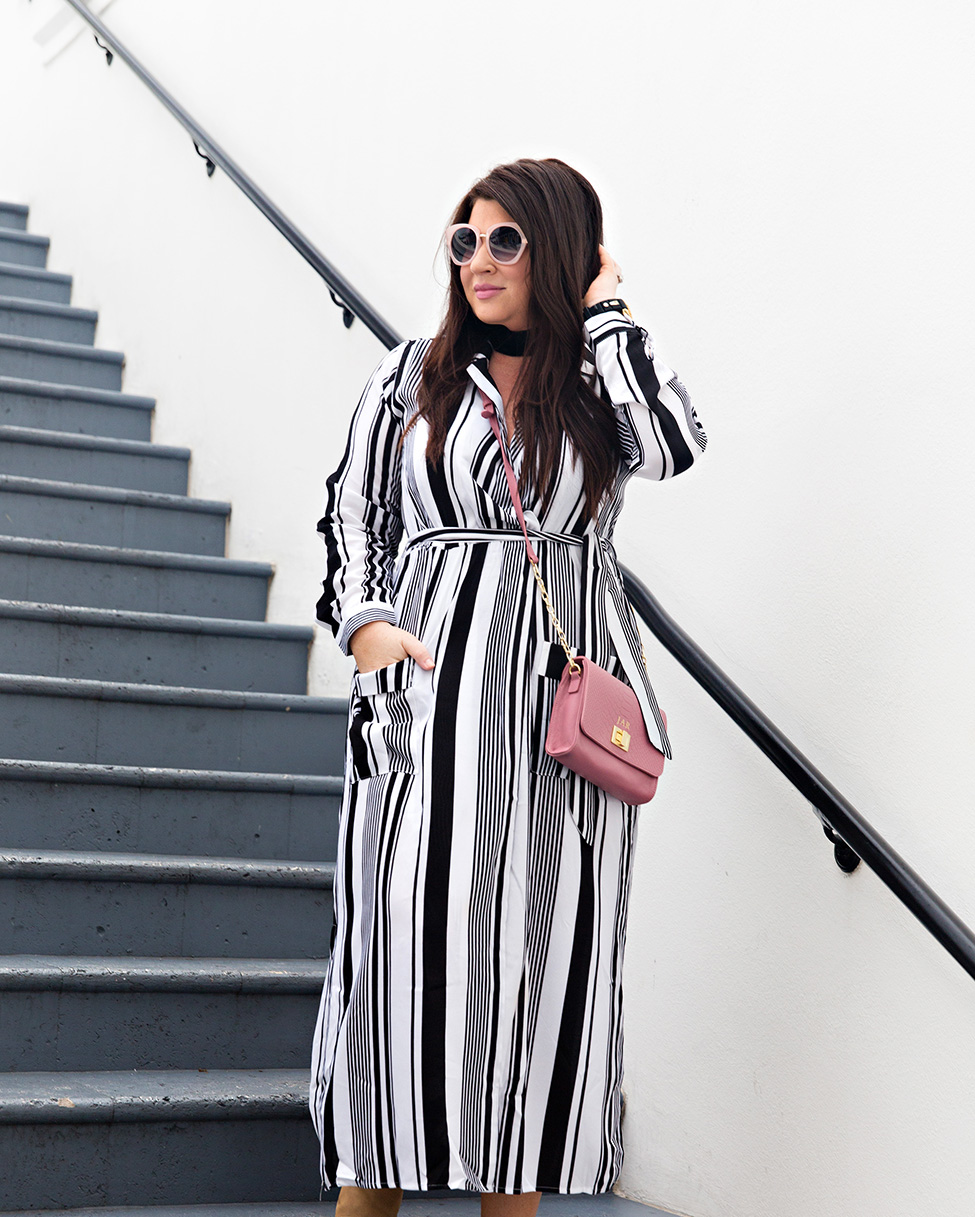 30A Street Style Jami Ray The Pearl Rosemary Beach Black and White Stripes 3