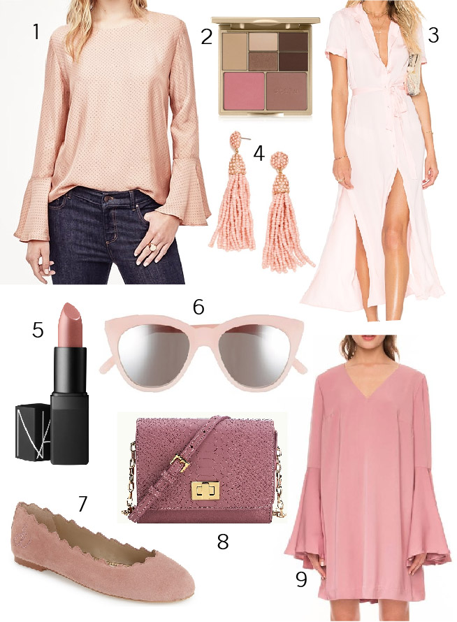 Color Crush Dusty Pink October Fall 2016 Trends
