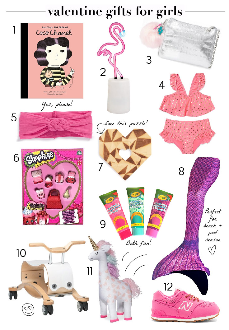 The cutest Valentines gifts for little girls. Love these!