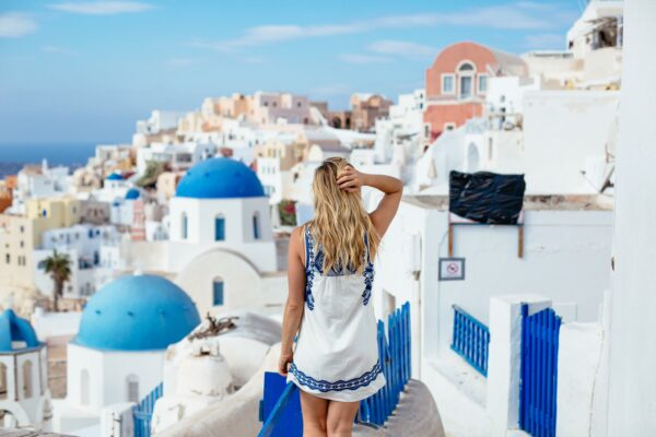 Whitney Haldeman Blonde Atlas || 30 Questions on 30A || Santorini