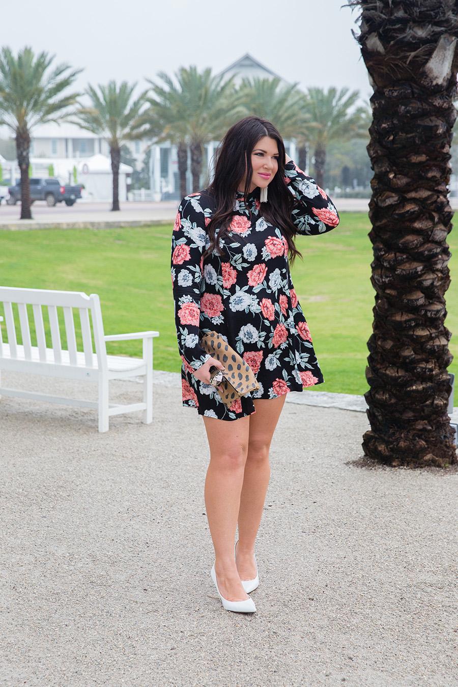 Minkpink Garden of Eden Dress on 30A Street Style - Jami Ray