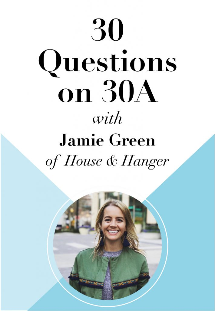 30 Questions on 30A Graphic Jamie Green