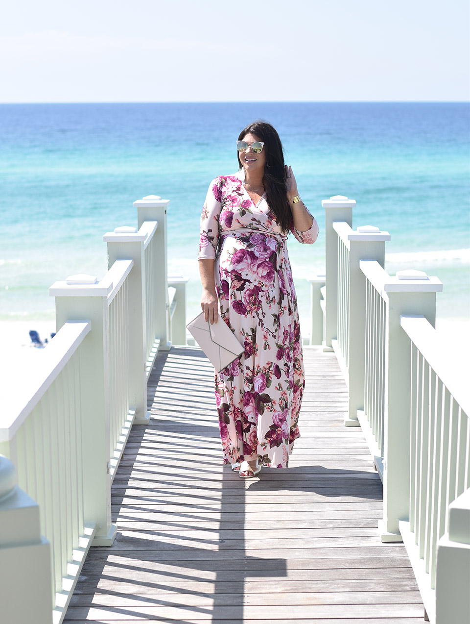 30A Street Style PinkBlush Maxi in Seaside