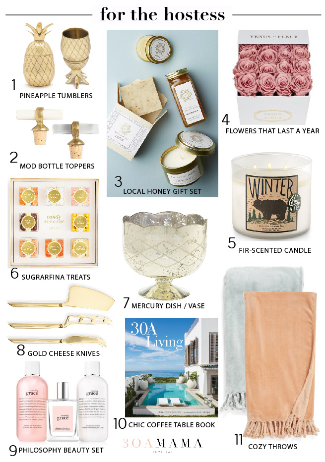 Holiday Gift Guide-For the Hostess