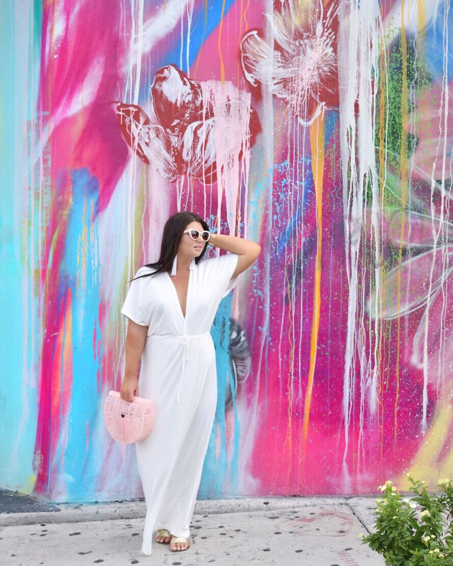 White Maxi Miami Wynwood Walls