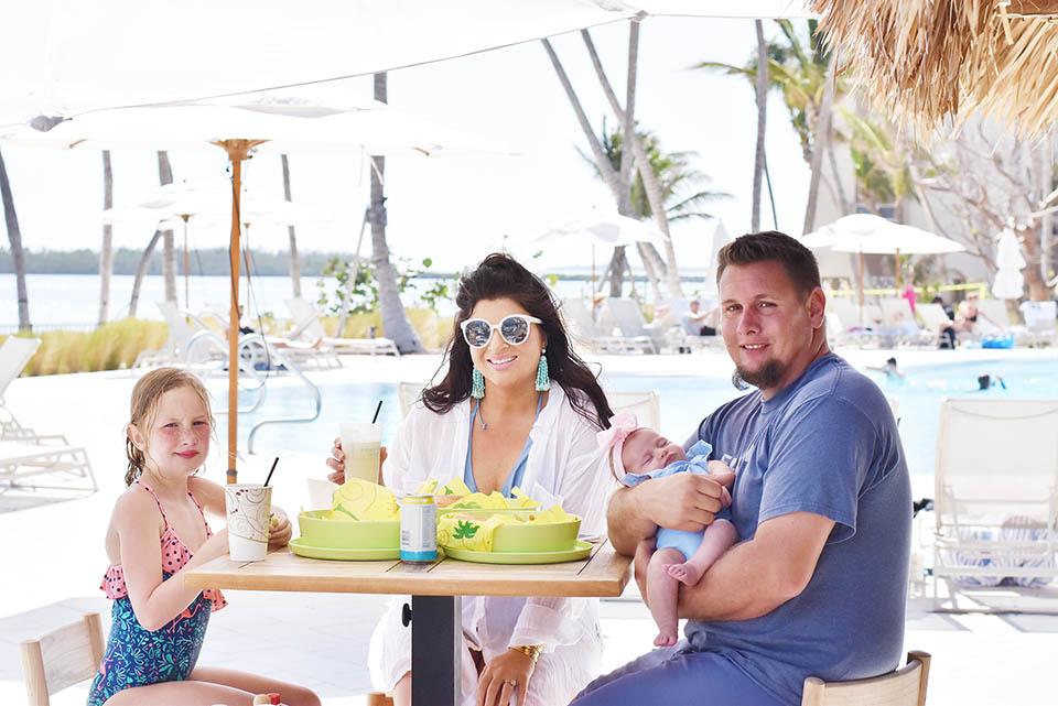 Amara Cay Resort - Islamorada - Florida Keys Poolside Lunch
