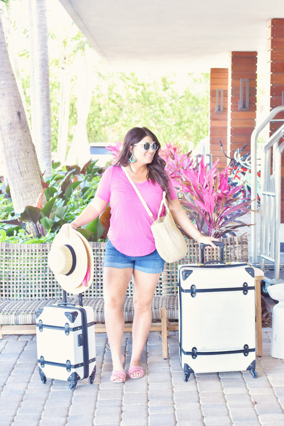 Amara Cay Islamorada White Luggage