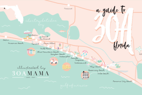 30A Mama - 30A Neighborhood Guide - Where to Stay on 30A