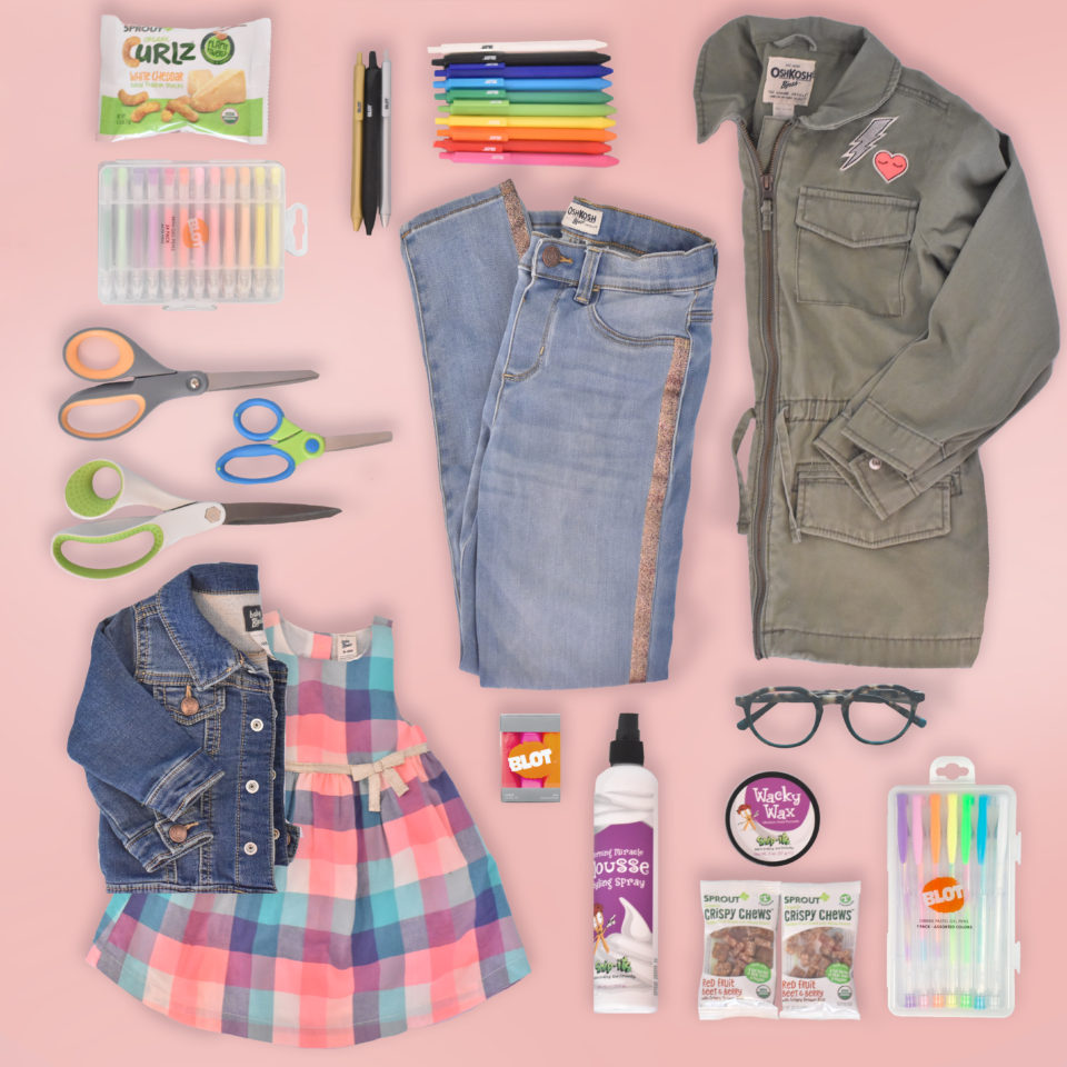 Babbleboxx Back to School Contents