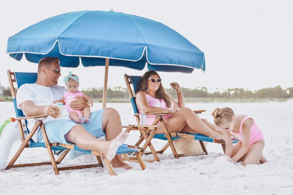 30A Mama - Family Beach Day on Grayton Beach with Grayton Beer 30A Rosé + 30A Beach Blonde