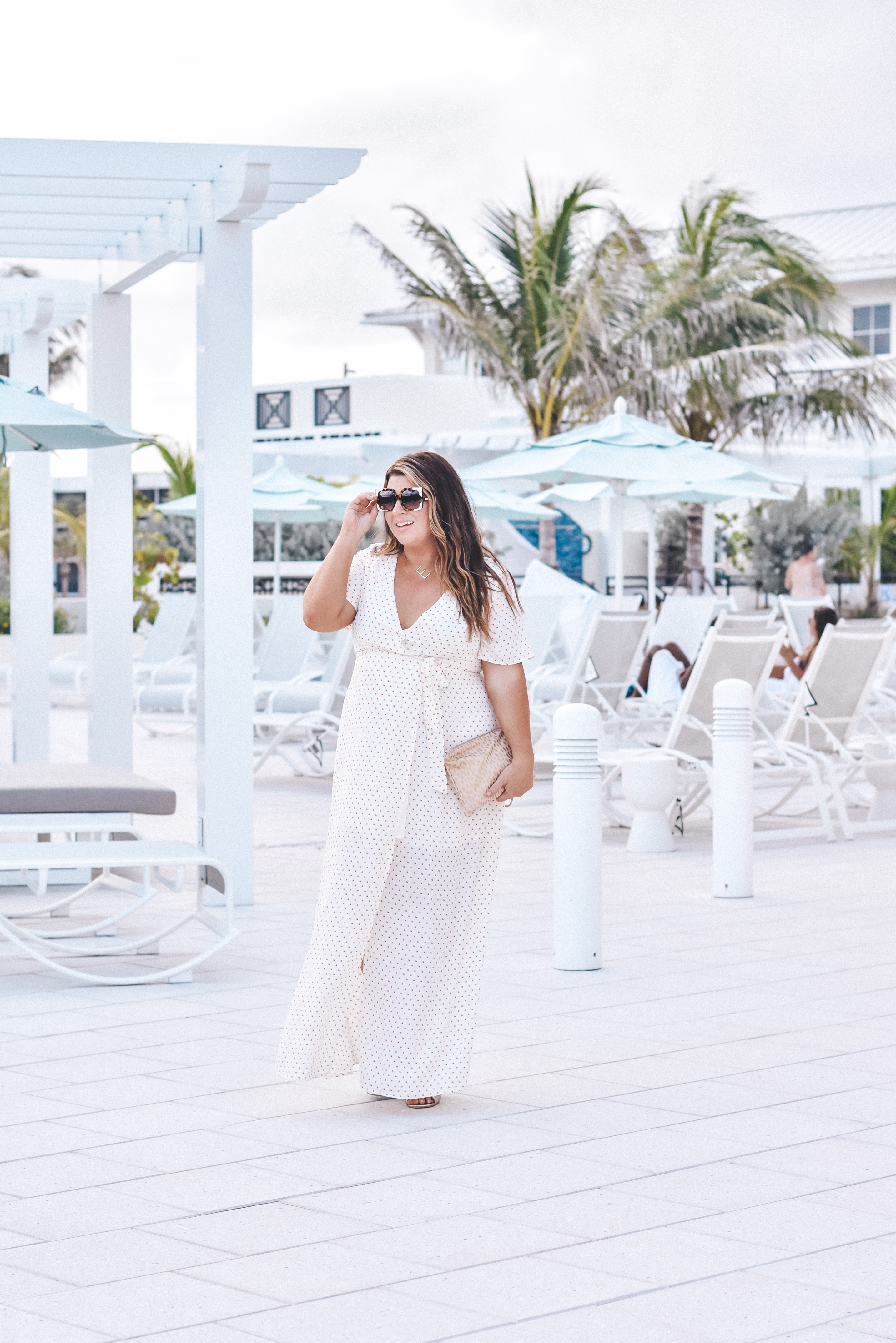 Hutchinson Shores - 30A Mama Travel - Resort Style - Beach Maxi Dress - Erika Powell Clutch