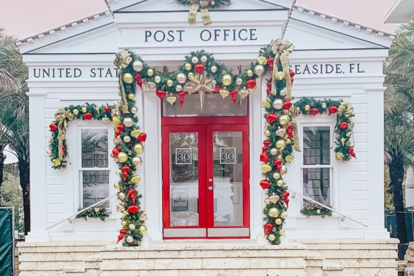 Christmas on 30A - Seaside Post Office