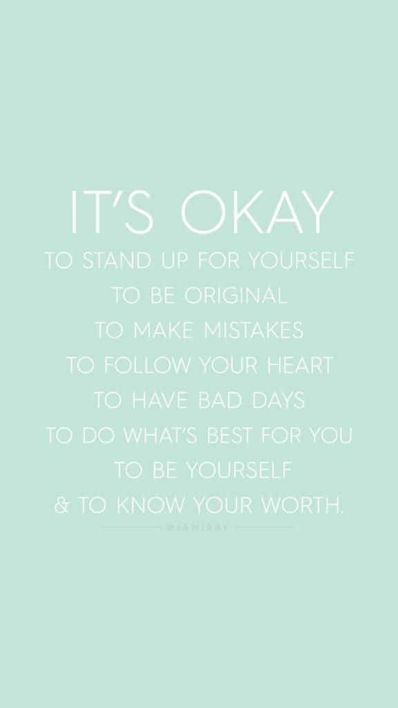 Mom life quotes - it's okay