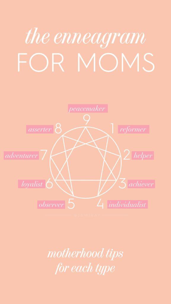 The Enneagram for Moms - motherhood tips for each type