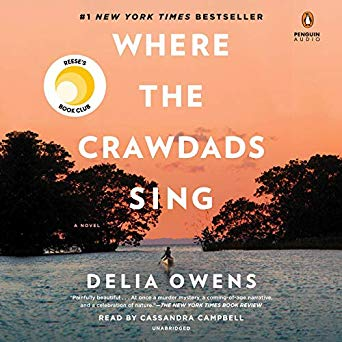 Where the Crawdads Sing by Delia Owens - My Favorite Books 2019