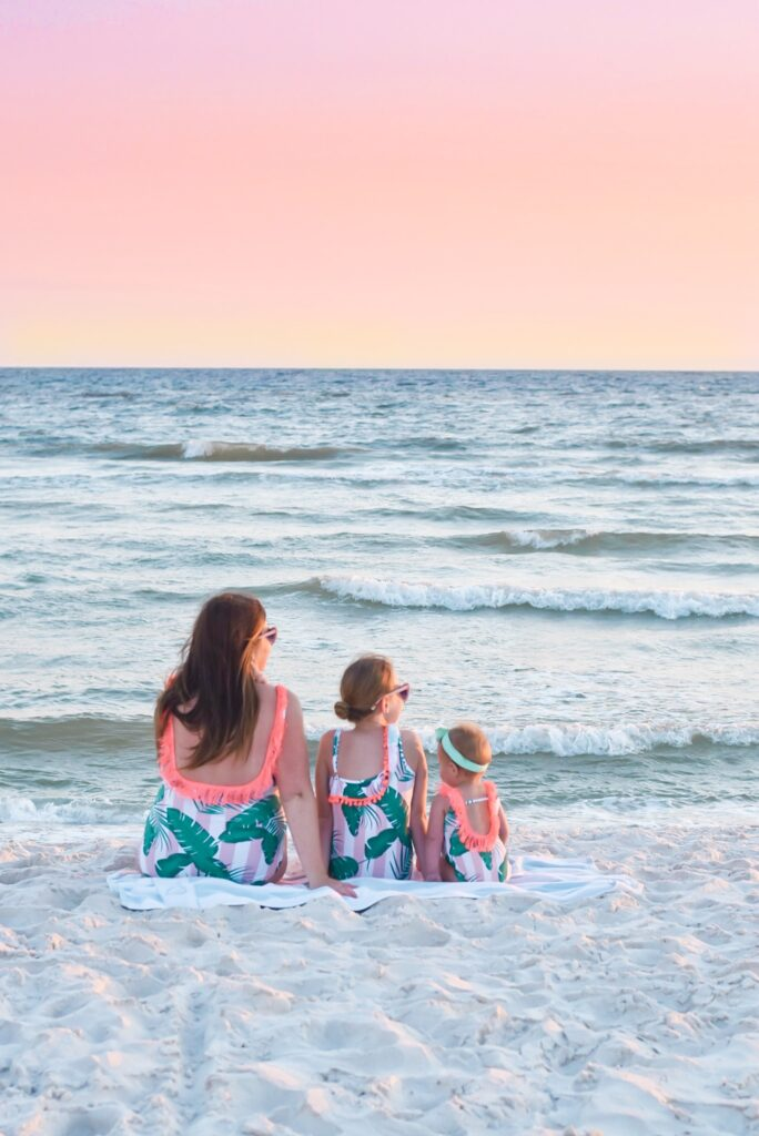 30A Mama - Inlet Beach - Shade Critters - Girls Matching Swimsuits - Mommy and Me Swim
