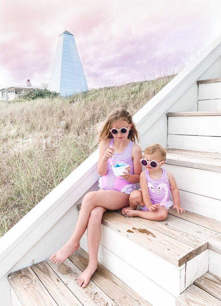 30A Mama - Seaside FL - Amazon Swan Swimsuits - Girls Matching Swimsuits