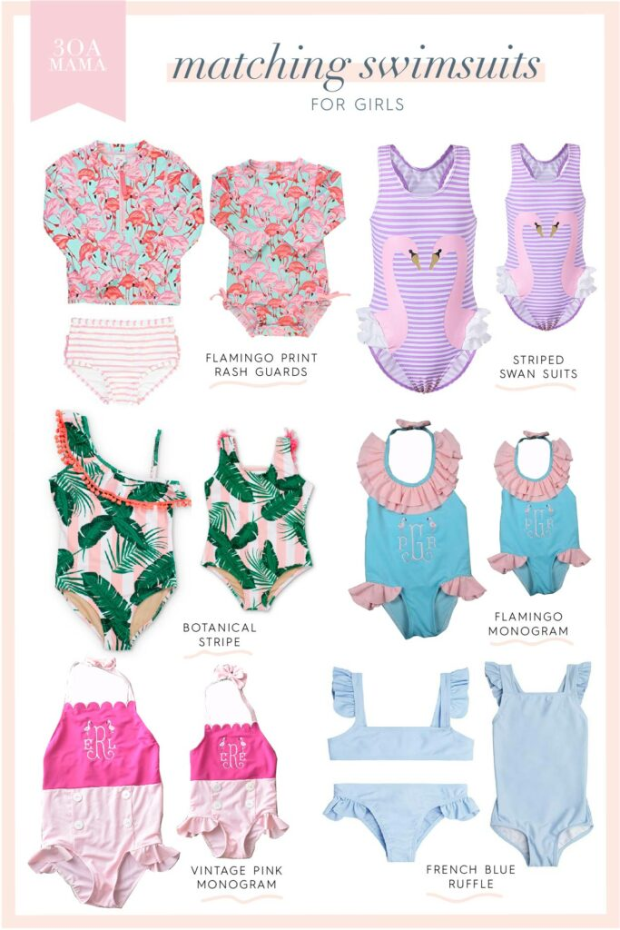 30A Mama Shopping - Sister Swimsuits